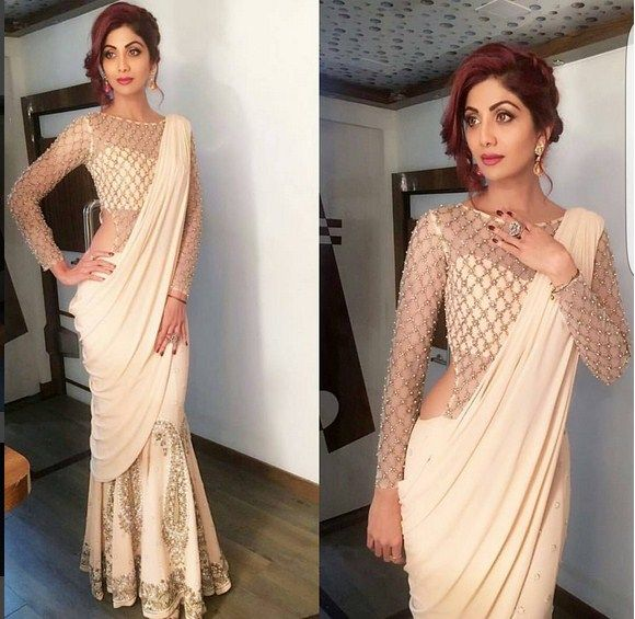 Shilpa Shetty In A Beautiful Dress .For This Dress Mail Us contact@ladyselection.com