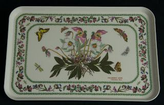 Portmeirion England Melamine Serving Tray -- Variations pattern, by Susan Williams-Ellis, large size, made in Italy.