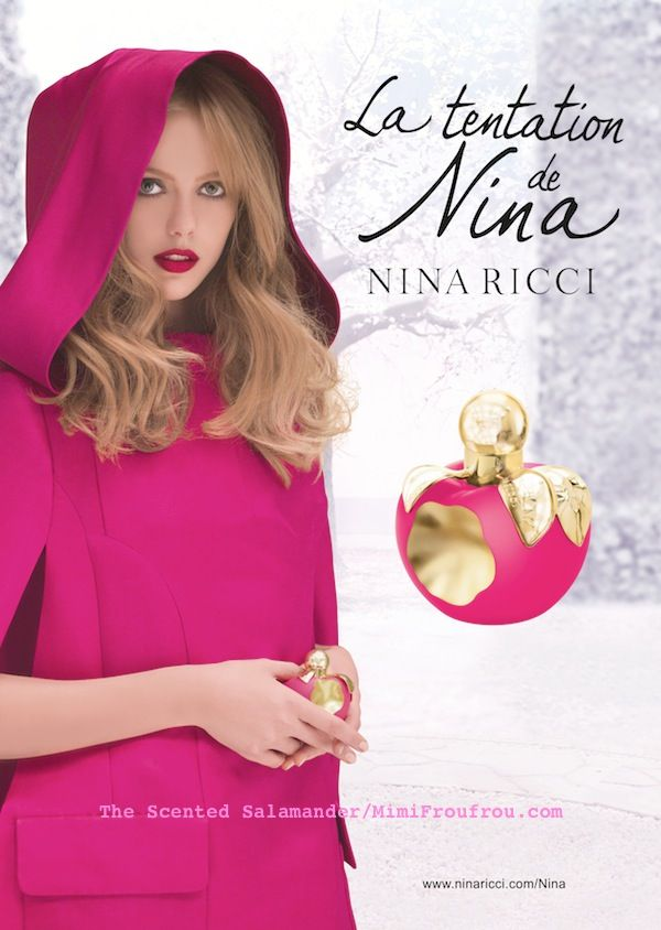 Nina Ricci La Tentation de Nina - Smell It, Taste It, Touch It (2014) {New Perfume}