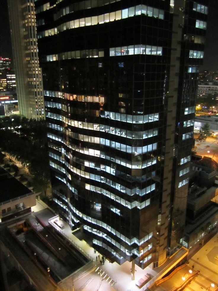 Madrid - AZCA. Noviembre 2017. Edificio Mahou.