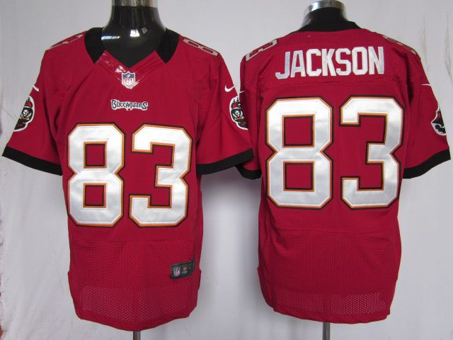 0480b4f48 low price mens nike nfl tampa bay buccaneers 83 vincent jackson red team  color stitched elite
