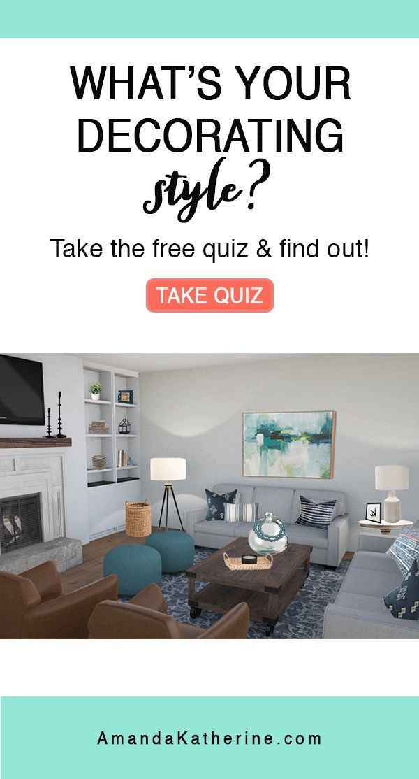 Find Your Awesome Decorating Style Take The Quiz Now And Find Out The Types Of Styles And If You Are Transitional M Decor Styles Home Decor Styles Style Quiz