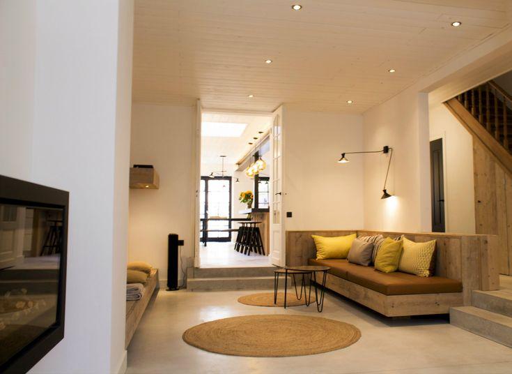 Rond Jute tapijt | Vakantiewoning Blankenberge te huur 10 tot 20 personen| ZaligAanZee