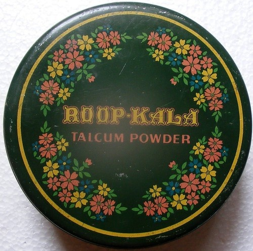 Roop Kala Talcum Powder Powder Tin: Antiques Compact, Sugar Spices, Roop Kalas, Lunches Boxes, Powder Tins, Feelings Pretty, Powder Boxes, Kalas Talcum, India Vintage