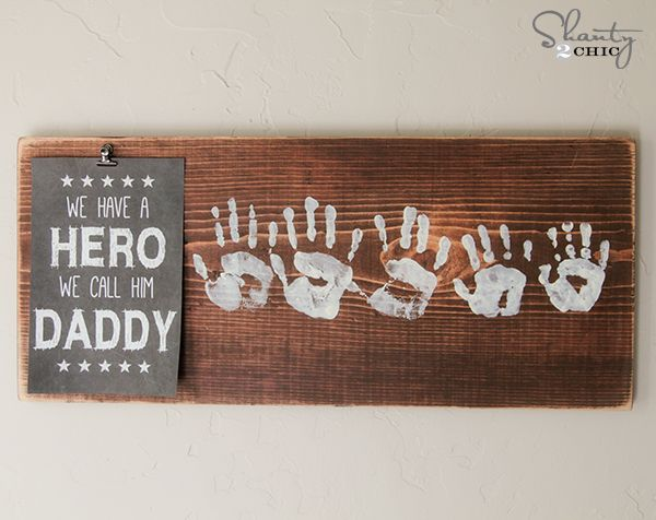 Father's Day gift idea with a FREE printable!