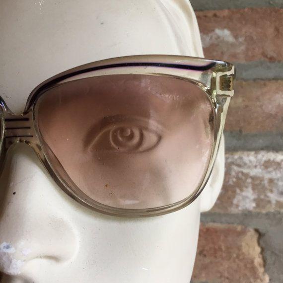 NOS Balenciaga vintage sunglasses butterfly oversize