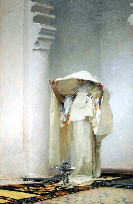 Fumée d'Ambre Gris John Singer Sargent -- American painter 1880 Clark Art Institute, Williamstown, Mass.