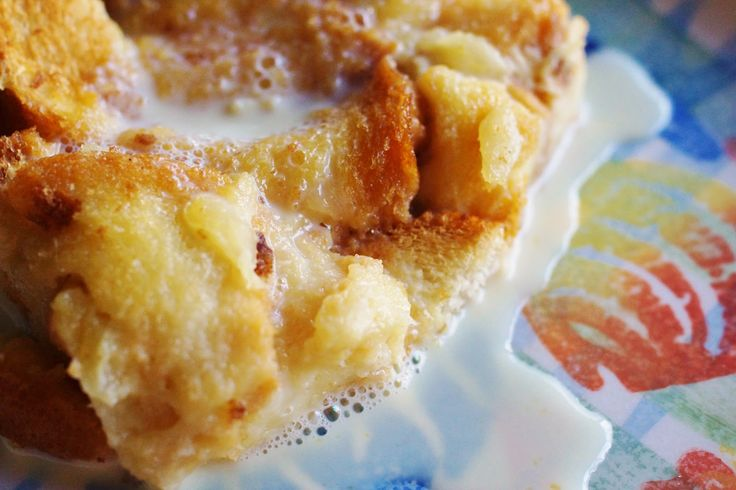 Pina Colada Bread Pudding with Vanilla Rum Sauce – Disney Cruise Lines