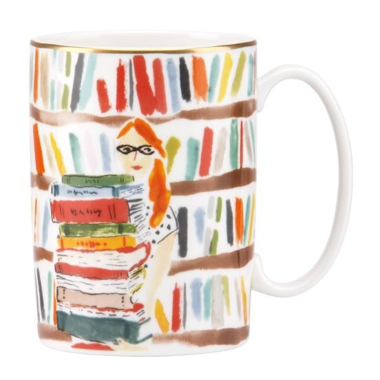 Library Books Mug by Kate Spade, $20.