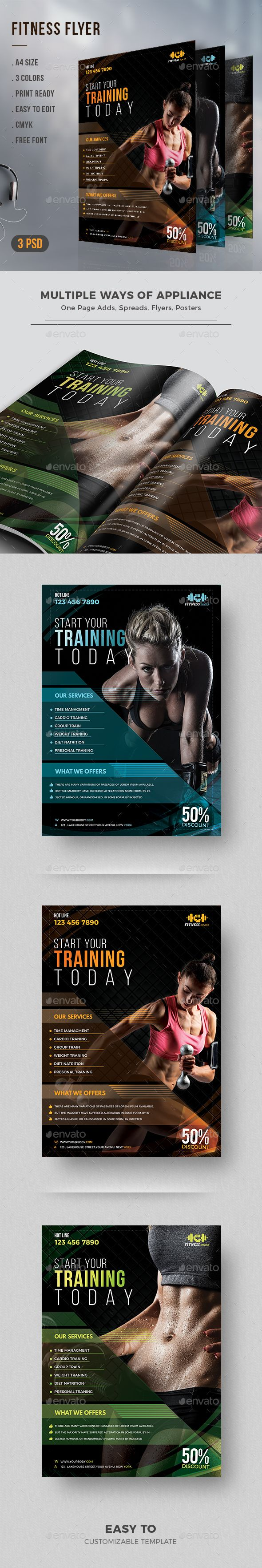 #Fitness #Flyer - #Corporate Flyers
