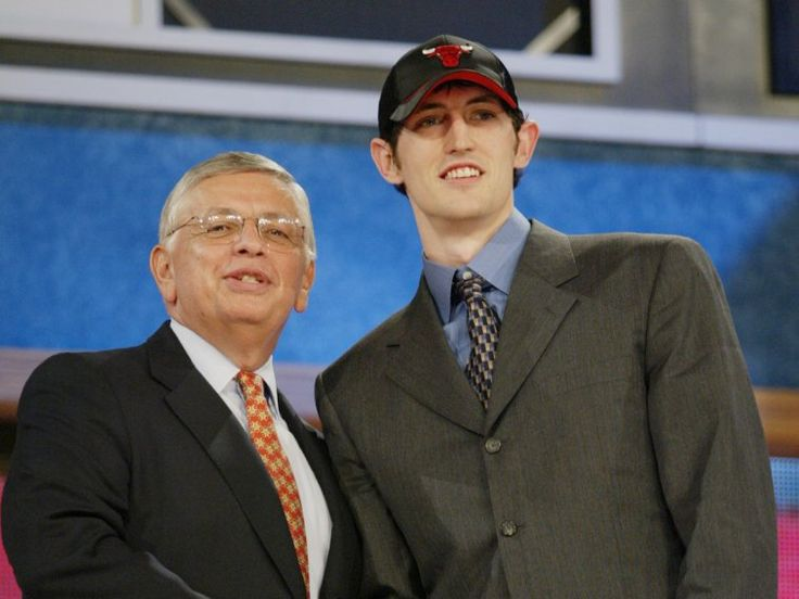 2003 NBA draft: Where are they now? See list.  Kirk Hinrich was picked No. 7 overall by the Chicago Bulls