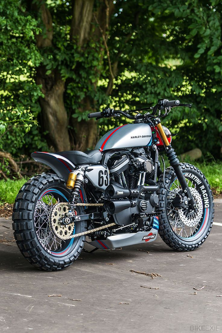 Harley Davidson custom XL883R.