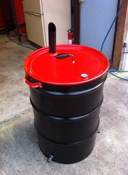 Barrel Project DIY Photo's - 55 gallon plastic drum projects - 55 gallon metal drum projects - bbq grill - Ugly drum smokers - Rain Barrels - Composters - Dear Feeders - Drum Smoker - Floating Docks - Floating Rafts - Water Storage - Wood Stoves.