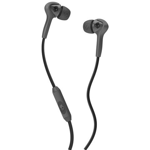 Skullcandy - Smokin' Buds Earphones w/Mic - Carbon Grey/Black – www.Ripster.co.uk