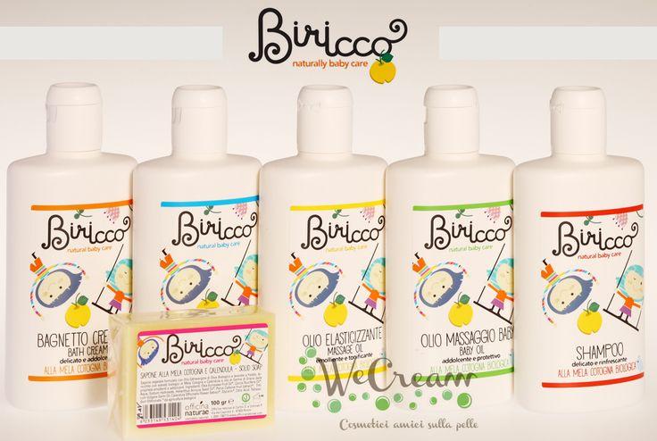 Una nuova linea di pure coccole! Biricco, prodotti per i bebè e le loro mamme alla mela cotogna by Officina Naturae     #coccole #bebè #neonati #mamme #prodottibio #melacotogna #lineabiricco #biricco  http://wecream.it/contents/it/d81_LINEA_BIMBI_BIRICCO.html