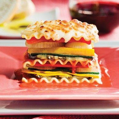 Lasagne primavera - Recettes - Cuisine et nutrition - Pratico Pratique
