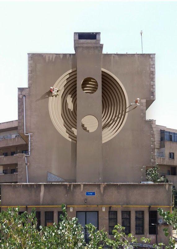 Des fresques à Téhéran fresque teheran 10