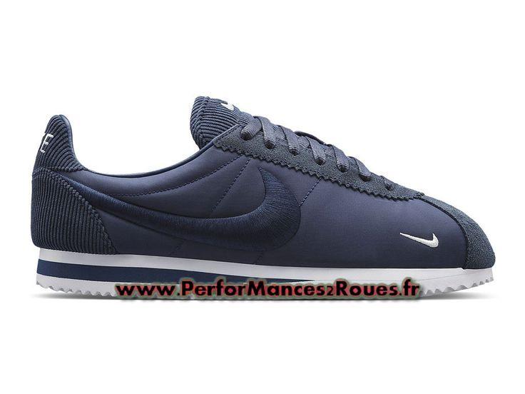 half off 43ca4 5c954 ... Nike Classic Cortez SP (GS) Chaussures Nike Prix Pas Cher Pour Femme  Bleu 789594 ...