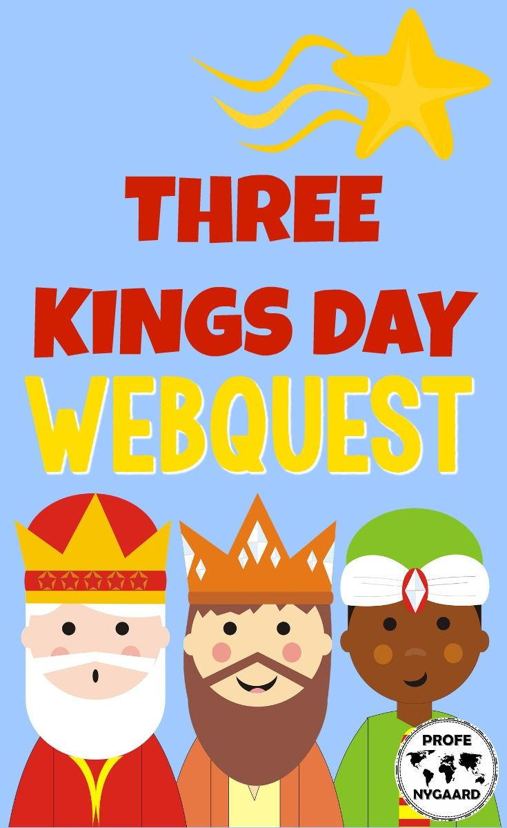 This WebQuest is two pages in length and should take your students around 50 minutes to complete. This cultural activity is in English.  This WebQuest explores the following topics:  Who Were the Three Kings? Three Kings Day in Puerto Rico & the United States How is Three Kings Day Celebrated? What Exactly is Candlemas?