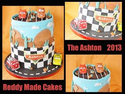 Disney Cars  Cake by ReddyMadeCakes
