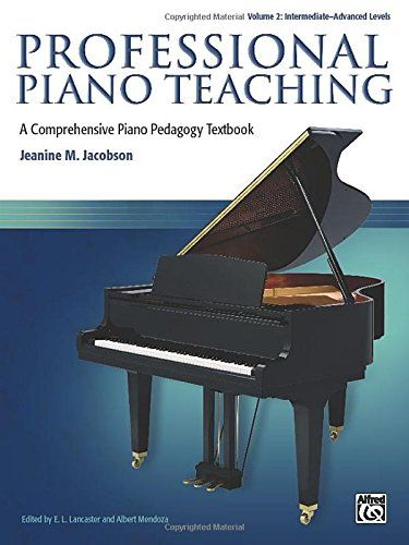 21 best piano pedagogy books images on pinterest piano classes professional piano teaching vol 2 a comprehensive piano pedagogy textbook fandeluxe Gallery