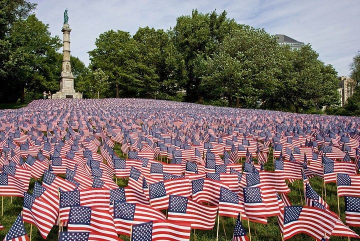 There Is Nothing Nobler Than Risking Your Life For Your Country Nick Lampson Each Year The Massachusetts Milit Military Heroes Boston Garden America