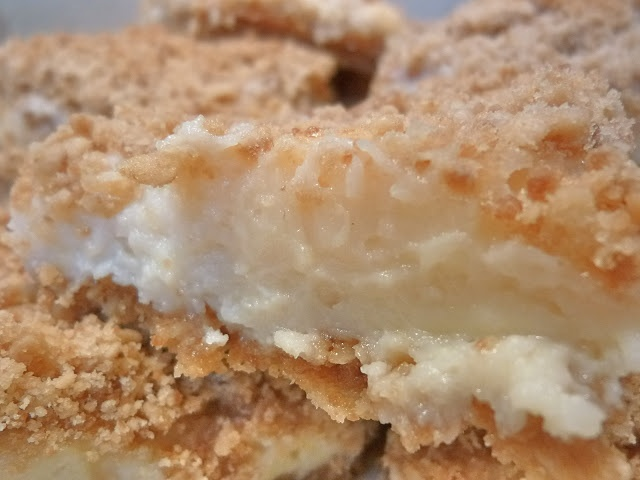Pioneer Woman's Creamy Lemon Crumb Squares and Crying Over Sweet Condensed Milk