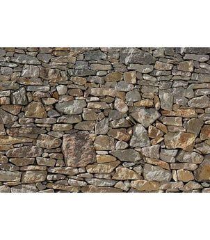 Stone Wall 8-727 fototapeta  Komar Kámen, velikost 368 x 254 cm, 8- dílná