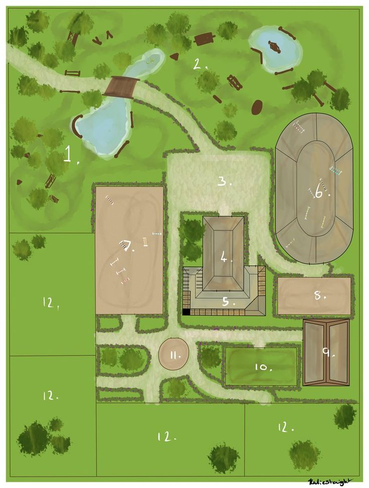 17 best images about equestrian facilities on pinterest for Horse farm house plans