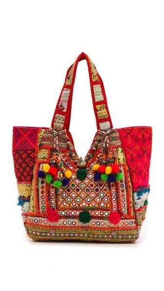 antik batik bohemian tote