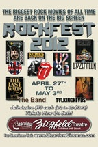3 More Days of Rockfest at The Ziegfeld: U2 in 3D, LedZepplin, TheBand, TalkingHeads. See SocialEyesNYC for details http://wp.me/p248Xv-11w