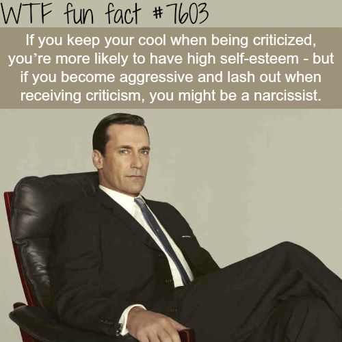 How you handle criticism can tell a lot about you - WTF fun...