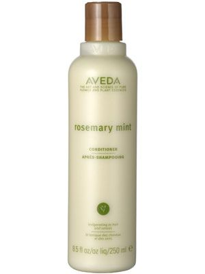 This Aveda conditioner leaves hair shiny and manageable.