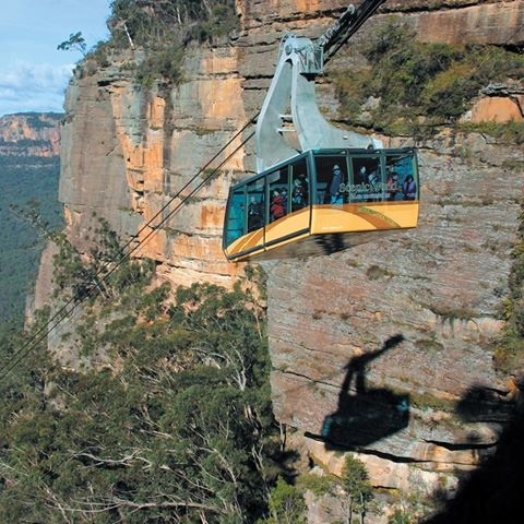 Cableway, all the way, hooray!