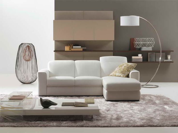 Low seating sofa for small living room decorations