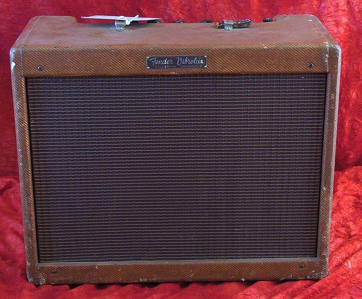 fender 1958 vibrolux model 5f11 tweed 10 watts 10 jensen vintage amps pinterest models. Black Bedroom Furniture Sets. Home Design Ideas