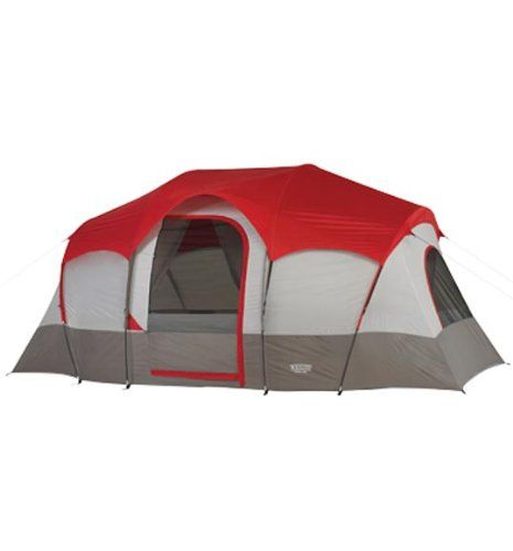 Wenzel Blue Ridge Feet 2 Room Seven Person Tent Floor Area 117 square feet Peak Height 72 inches Weight 18 pounds 2 ounces Number of Doors 1 Number of ...  sc 1 st  Pinterest & 49 best Family Camping Tents images on Pinterest | Family camping ...
