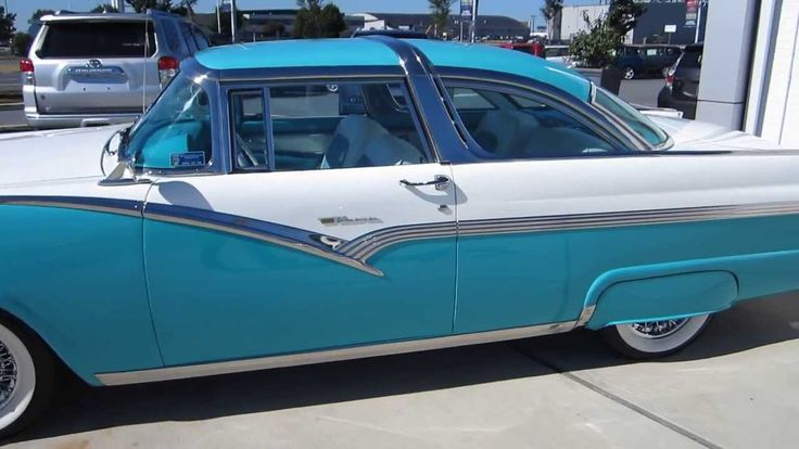 """*** AMAZING 1956 FORD FAIRLANE """"CROWN VICTORIA"""" *** FOR SALE !!!!!  SOLD..."""