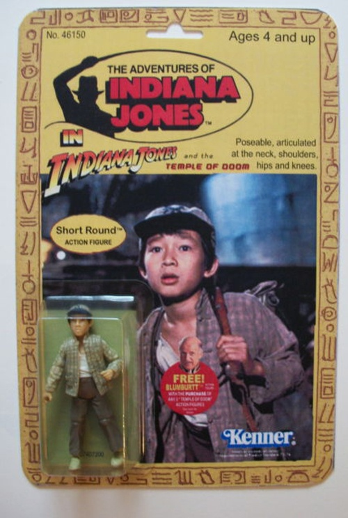 Indiana Jones & The Temple of Doom figure - Short Round - Popsfartberger