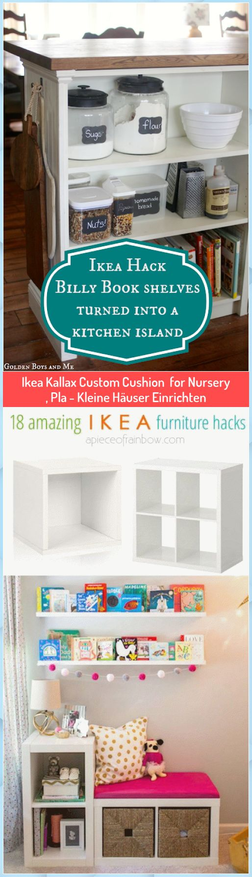 Ikea Kallax Custom Cushion for Nursery , Pla - Kleine ...