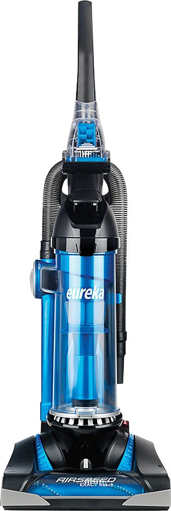 Eureka - AirSpeed Exact Reach Bagless Upright Vacuum - Black/Blue, AS3008A