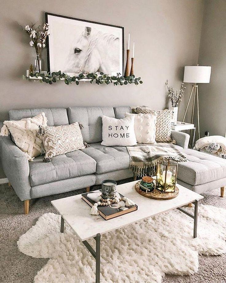 U271488 Best Minimalist Living Room Designs That Make You Be At Home 40 U00bb Aesthetec Small Living Room Design Winter Living Room Living Room Decor Apartment