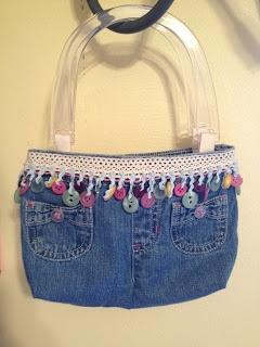 Sew Crafty Angel: Denim Bag