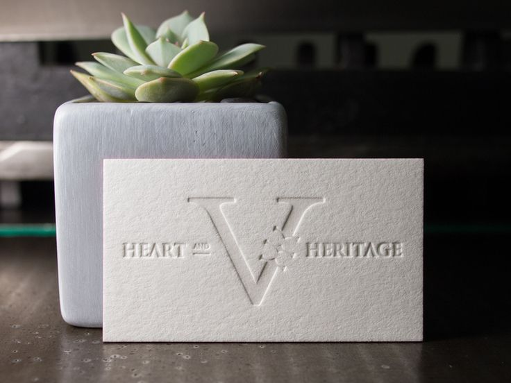 50 best letterpress business cards images on pinterest embossed letterpress business cards with a blind deboss reheart Choice Image