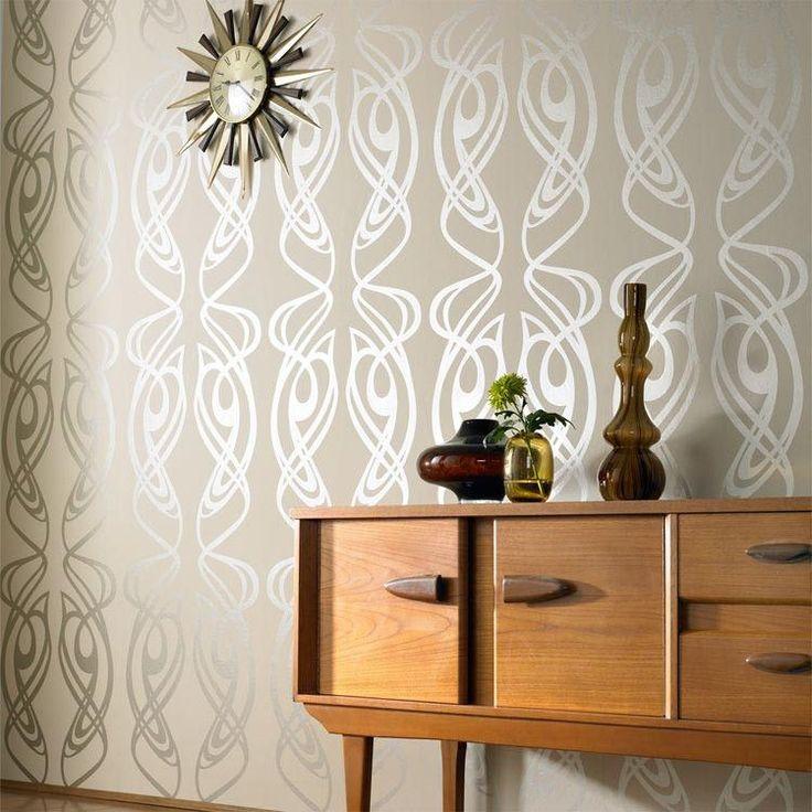 Lighting For Teenage Bedroom Vinyl Wall Art Bedroom Accent Wall Ideas For Bedroom Geometric Wallpaper Bedroom: Best 25+ Wallpaper Accent Walls Ideas On Pinterest