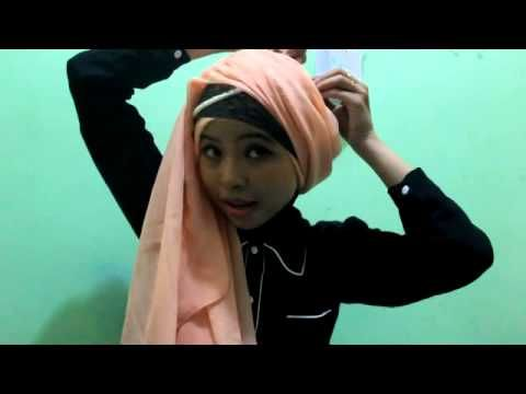 Tutorial Hijab Turban with Pashmina By Anandadppl  #hijab #pashmina #turban #tutorial #anandadppl