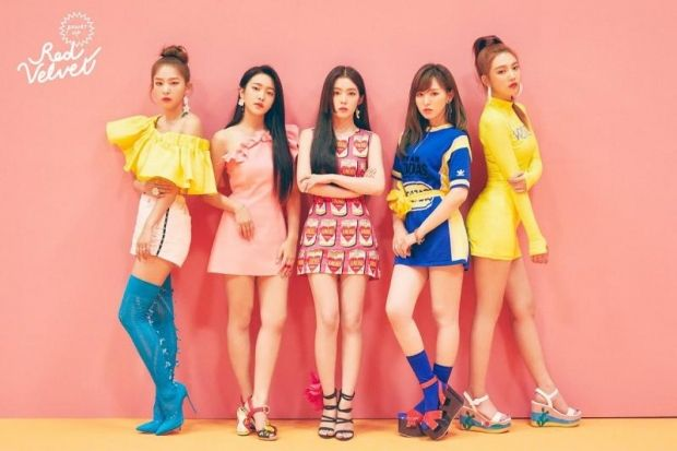 Red Velvet Will Be Appearing On Upcoming Global K Pop Dance Challenge Variety Show Stage K Red Velvet Photoshoot Red Velvet Red Velvet Irene