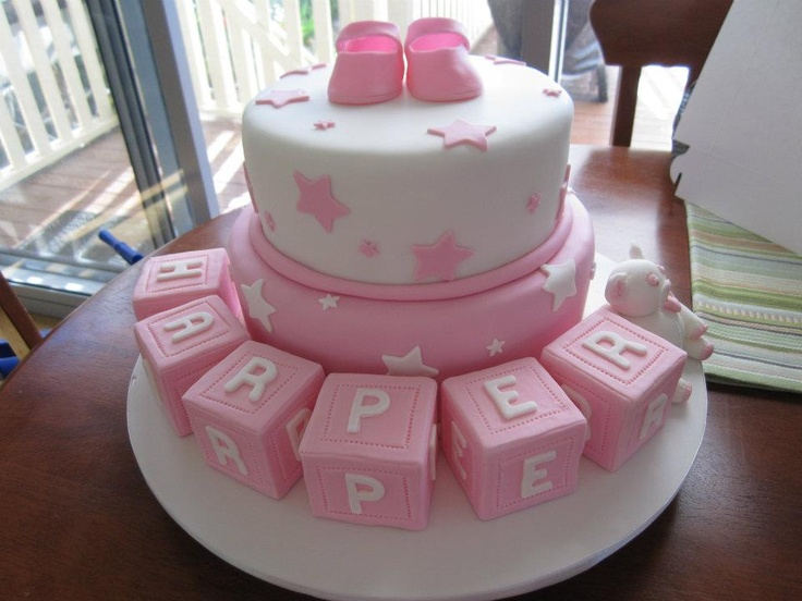 Naming Day or Christening Cake from https://www.facebook.com/pages/Kates-Cakes/249769191725522