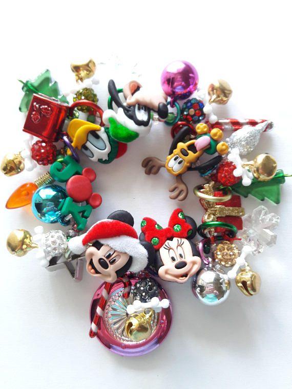Mickey Mouse kerst armband/Disney/Beadiebracelet