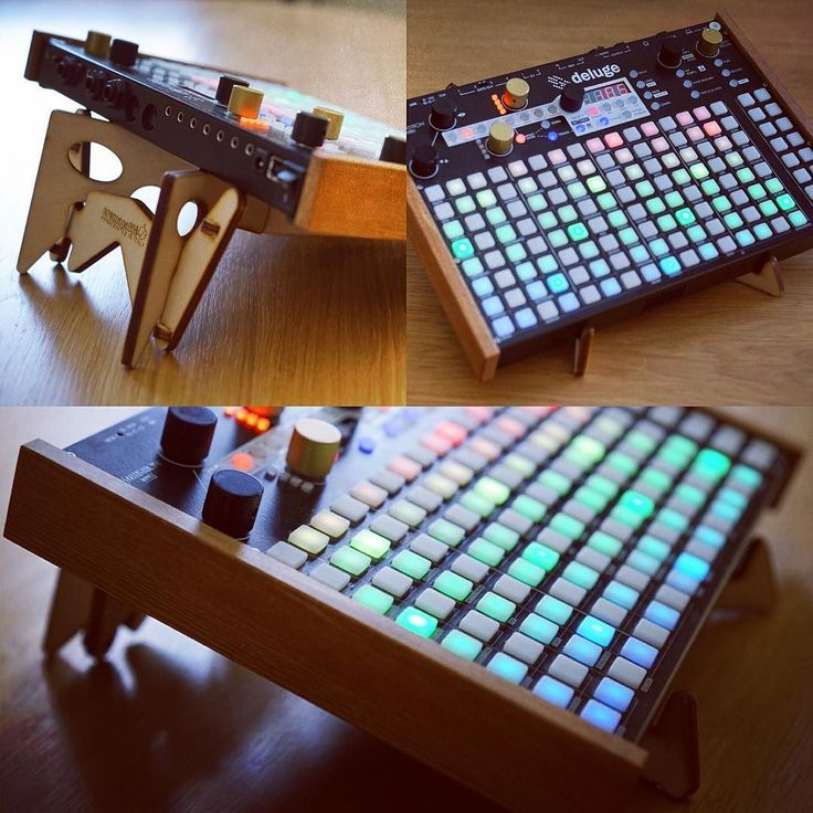 KOLIBRI stand & Synthstrom Deluge. Photos by @loopopmusic    http://cremacaffedesign.com/kolibri